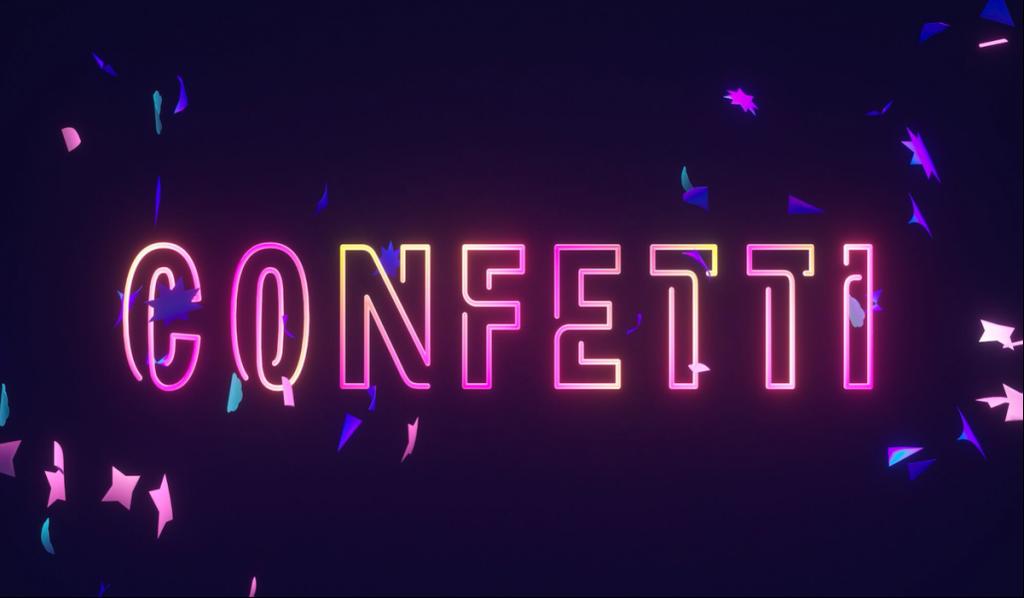gameshow tương tác Confetti