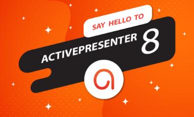 Phát Hành ActivePresenter Phiên Bản 8