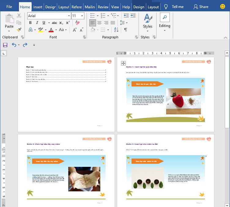 Tạo Hướng Dẫn Sử Dụng Dưới Định Dạng Microsoft Word Và PDF