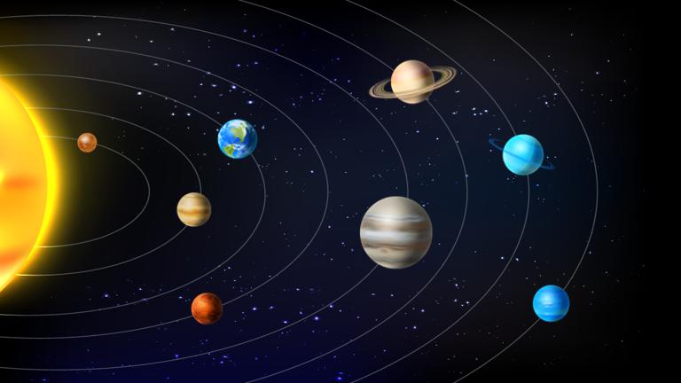 Thiết Kế Hệ Mặt Trời Tương Tác Với ActivePresenter 8